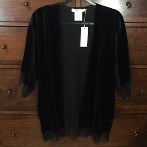 BCBGeneration Tops - NWT! BCBG Generation Black Lace Kimono